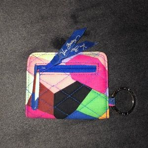VERA BRADLEY ID wallet and coin purse